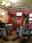 Jose's café and its TV
